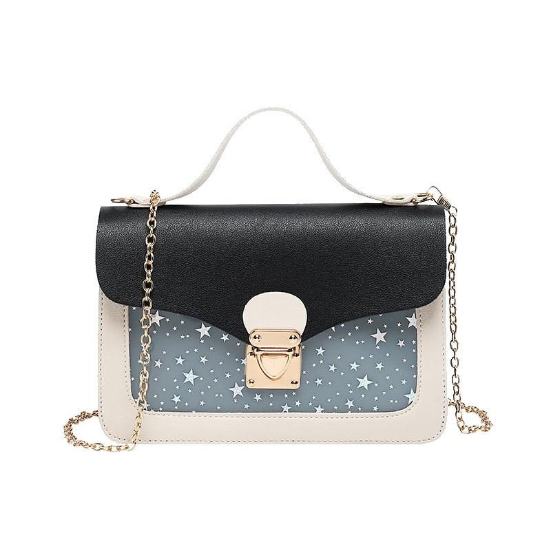 Fashion Modern Star Women Sling Shoulder Bag 2019 Luxury Small Mobile Phone Bag Ladies Crossbody Messenger Handbag Teenage Girls