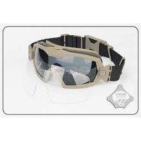 TB1029DE FMA регулятор, обновленная версия, очки с вентилятором, тактические очки для велоспорта, защита глаз для Skilling & Ciclismo, пейнтбол