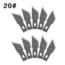 10 Pcs One Lot 20# Wood Carving Knife Blade Replacement Surgical Scalpel Blade