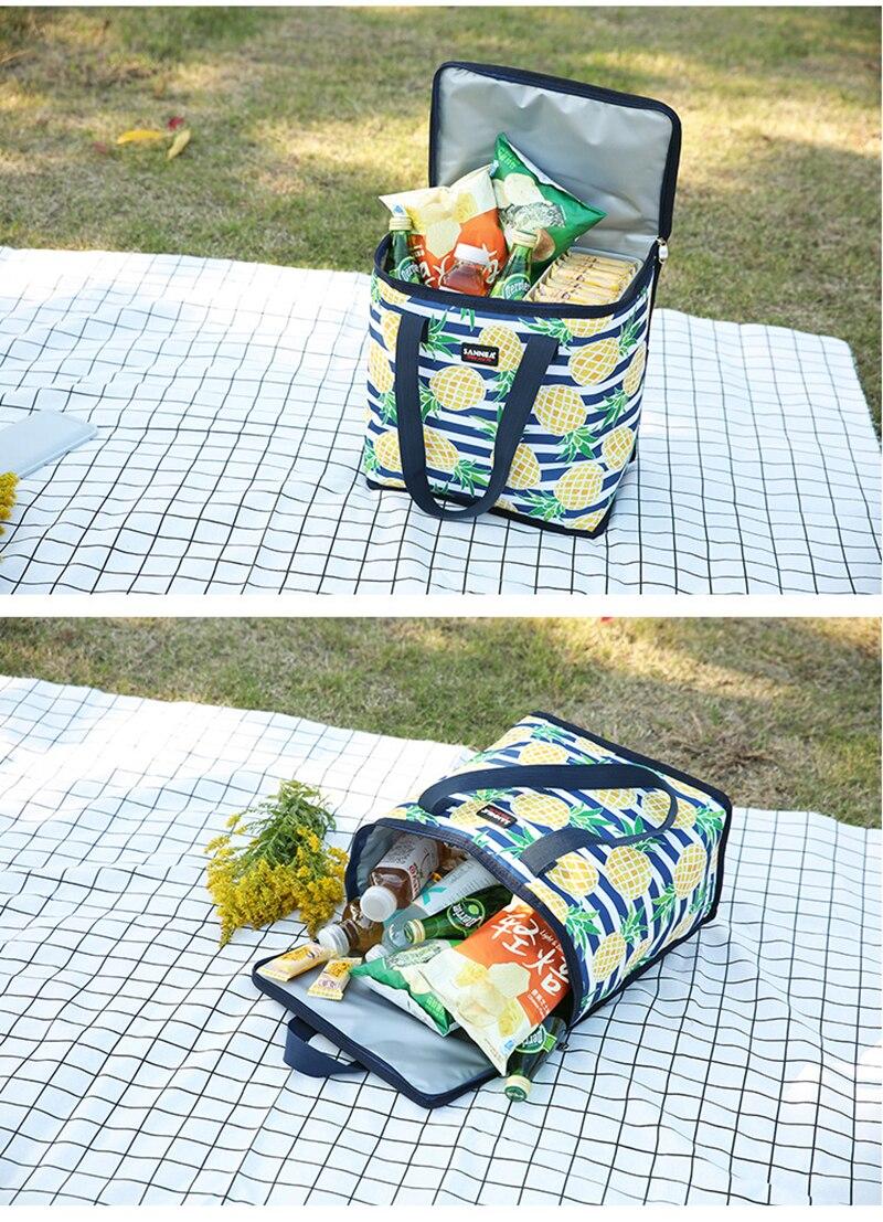 saco para 3-5 pessoas portátil grande refeição