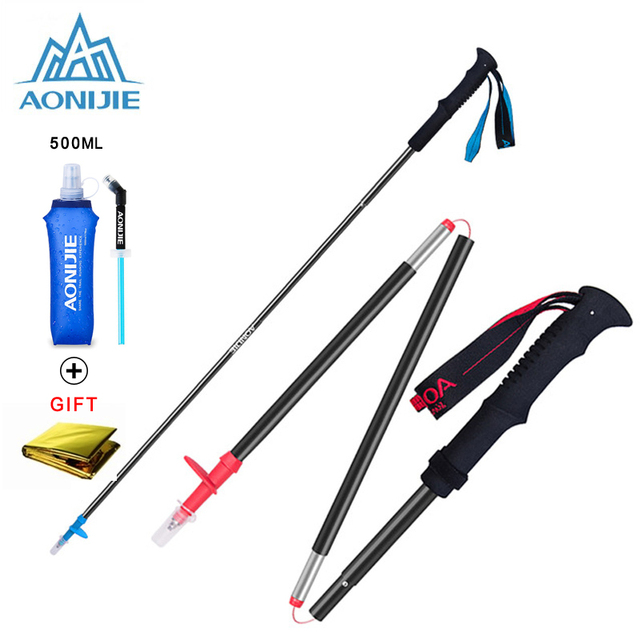 Tri-fold Ultralight Trekking Poles