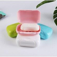 New Bathroom Dish Plate Case Home Shower Travel Hiking Holder Container Soap Box 2019 Hot Plastic Dispenser Rack