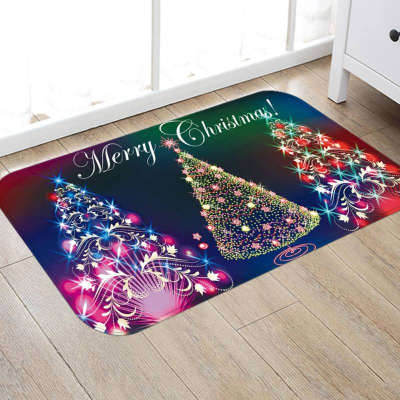 Aliexpress Com Buy Rugs Flannel Fabric Christmas Mats
