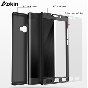Image 3 - Aokin For Xiaomi Mi Note 2 Case Luxury Ultra Thin Matte PC 360 Full Cover for Xiaomi Note2 Mobile Phone Case with Tempered Glass