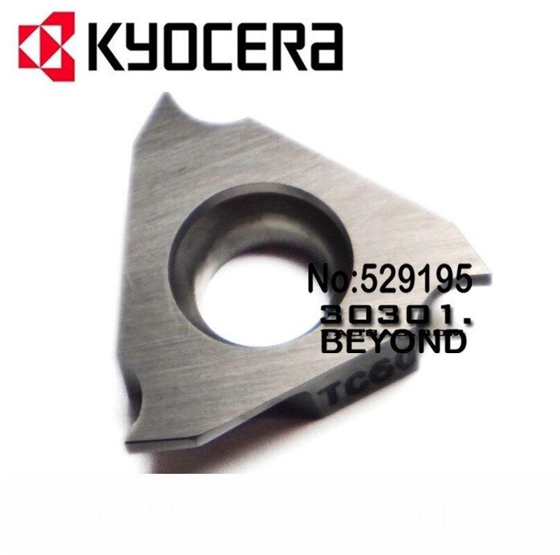 TGF32R100 TGF32R150 TGF32R175 TGF32R200 TGF32R250 TC60M kyocera Carbide Tip Lathe Insert for turning tool holder boring