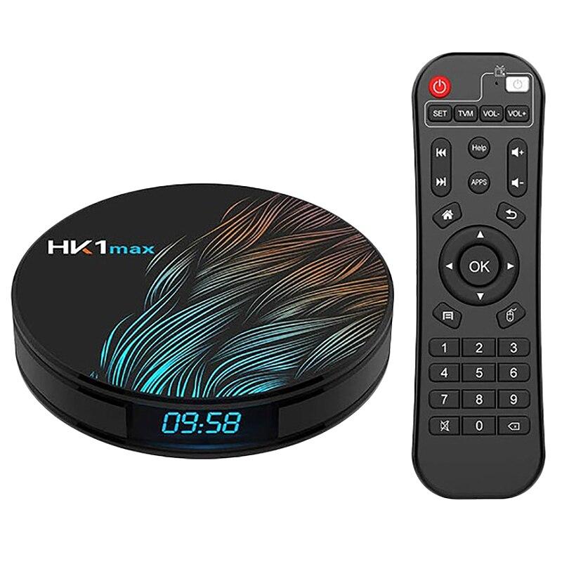 Nouveau Hk1 Max Smart Tv Box Android 9.0 4 Gb 64 Gb Rk3328 1080 P 4 K Wifi G Oogle jouer Netflix décodeur lecteur multimédia Android Box 9