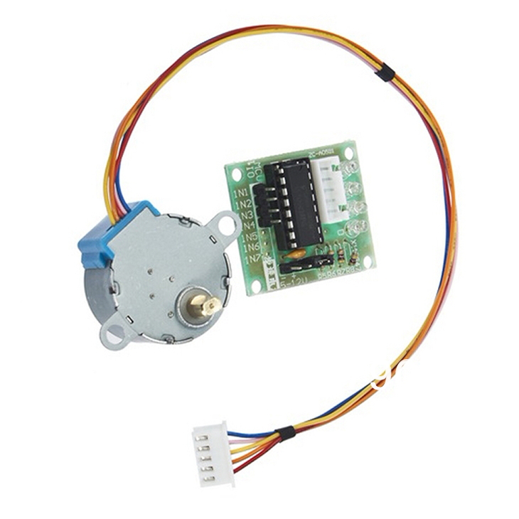 2 LOT 5V 4-phase Stepper Motor+ Driver Board ULN2003 for_Ard uino 4 x Stepper motor + 4 x ULN2003 Driver board,FREE SHIPPING ...