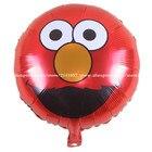 30pcs/lot 18inch Twinkle Elmo Balloon Sesame Street Balloons Elmo Sesame Street Foil Balloons Cartoon Party Supplies 45*45cm