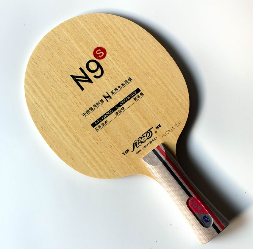 Original Milkey Way Yinhe Pure Wood N-9S Professional Table Tennis Blade For Beginner Table Tennis Rackets Racquet Sports Indoor