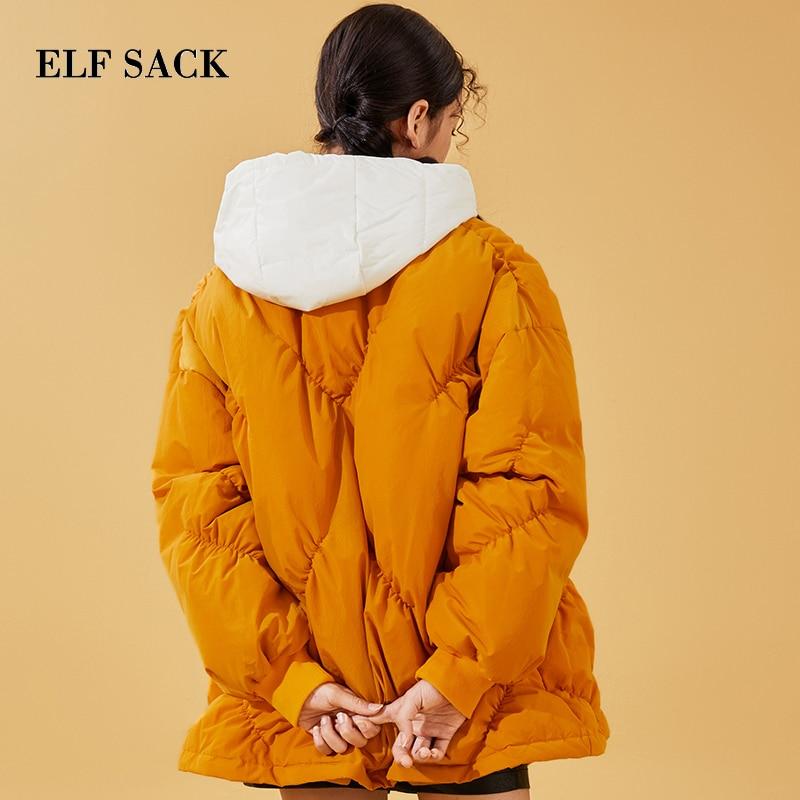 Zipper Le Sac 90 L'hiver De Taille Manteau Orange Épais Vestes Casual Porter Blanc Pour pourpre Large Manteaux Elf Femme Femmes Canard Duvet Nouveau À Vers Bas BIwxqnF6d0