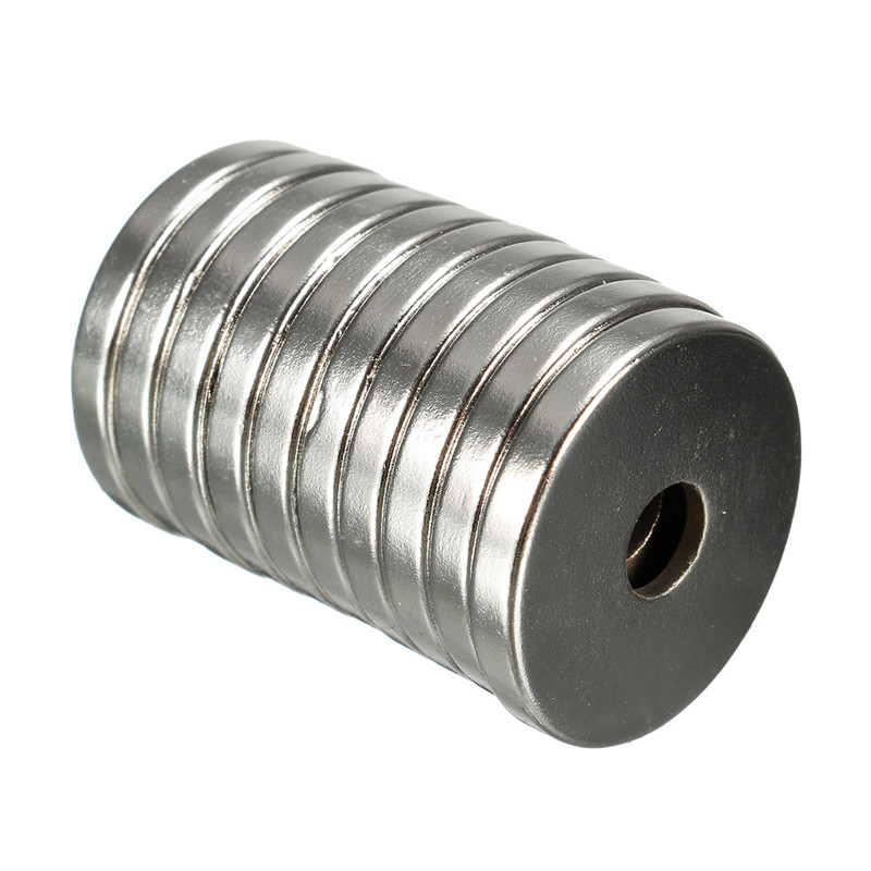 10pcs/pack 20 x 3mm Hole 5mm N35 Ring Magnets Rare Earth Strong Countersunk Neodymium Magnets 20mm x 3mm Permenent Magnet new arrival neodymium magnet imanes n35 25x10x3mm strong ring countersunk rare earth new arrival 2015 women jackets coats