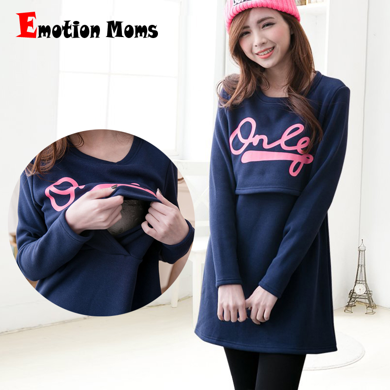 Emotion Moms Cotton maternity clothing Fabric Fashion Maternity Dresses Breastfeeding Dress Nursing Clothes for pregnant womenEmotion Moms Cotton maternity clothing Fabric Fashion Maternity Dresses Breastfeeding Dress Nursing Clothes for pregnant women