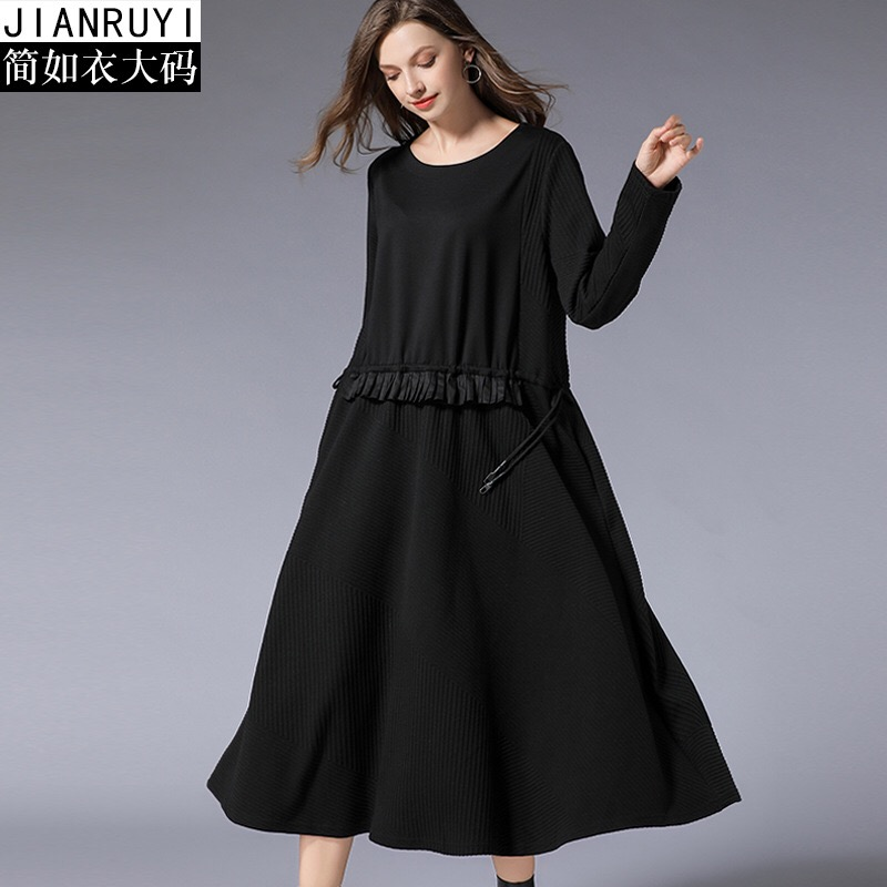 2018 Plus Size Maternity Dresses Cotton Fashion Dress Solid Long Sleeve Dress Elegant Pregnant Clothes Sashes