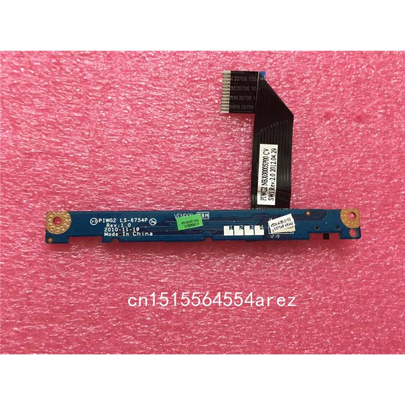 New Original laptop <font><b>Lenovo</b></font> <font><b>G570</b></font> G575 LED Board with Cable LS-6754P image
