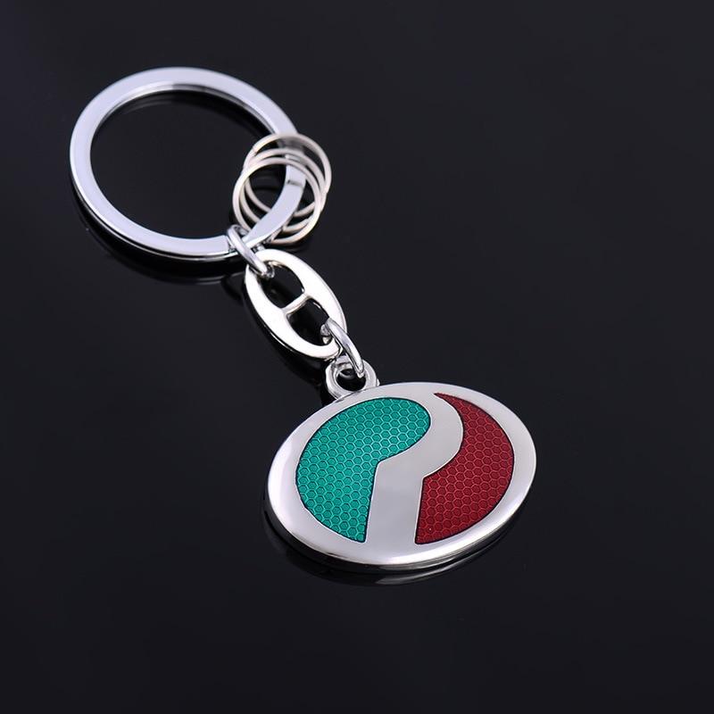 2016 new arrival fashion car logo keychain metal silver