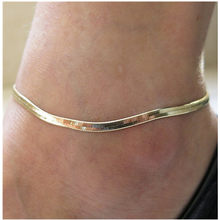 Woman Sexy Thin Metal Chain Anklets Scale / Upscale Beach Sandals Snake Bone Chain Bracelet Foot Jewelry Tobillera(China)