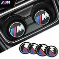 Car-Styling M Performance Power Motorsport Pegatinas de Coches Y Calcomanías Kit Estera de la Taza para BMW X3 X1 X5 X6 1 4 3 serie 5 Serie 7 serie
