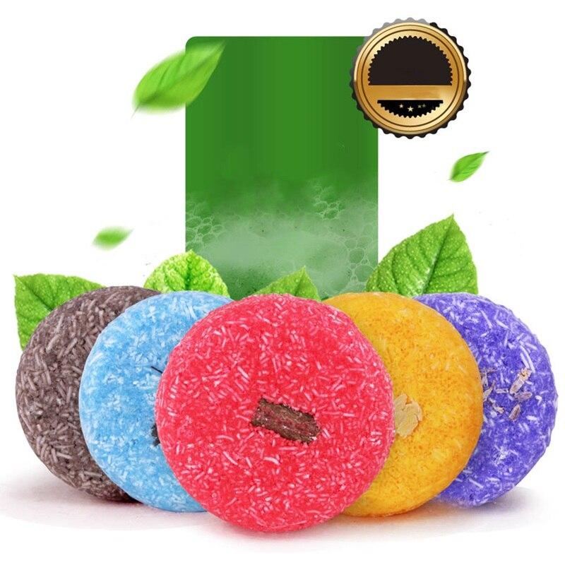 Organic Fragrance Shampoo Bar Soap Hair Nourishes Cleaning Herbal Soap Anti-Dandruff Healthy Handmade Dry Shampoo Soap