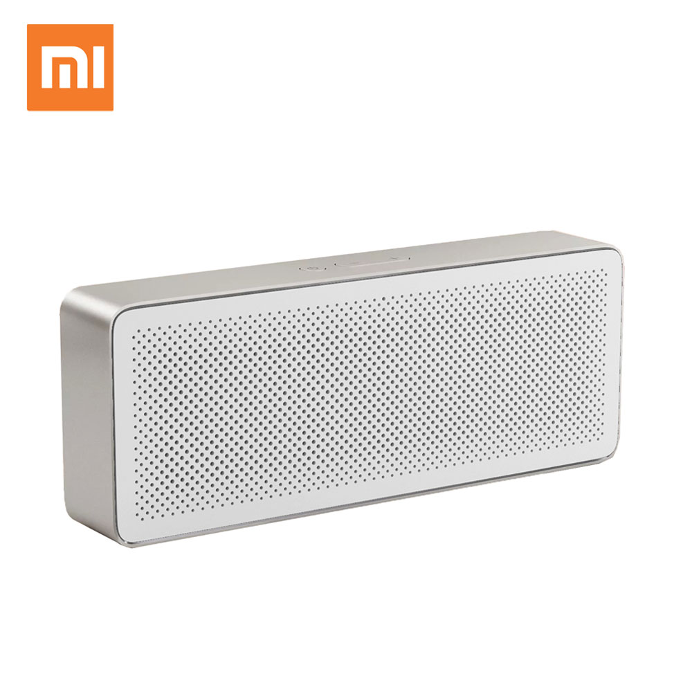 original xiaomi mi bluetooth speaker square box 2 stereo portable bluetooth 4 2 high definition. Black Bedroom Furniture Sets. Home Design Ideas