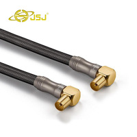 JSJ TV Signal Cable Fever High Definition Cable Digital Cable Cable TV Closed Line With Connector