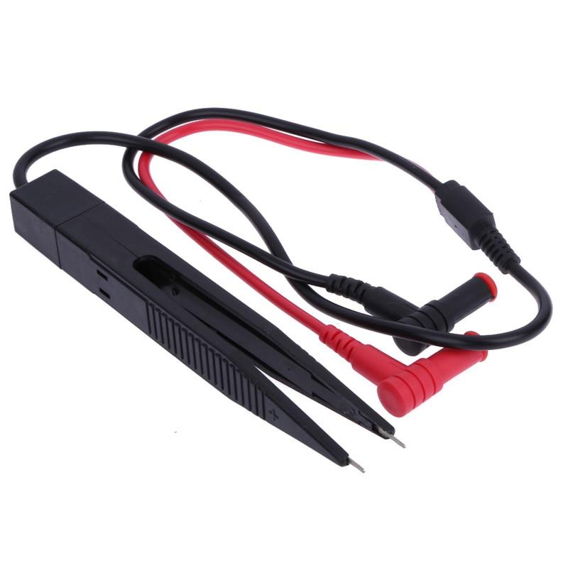 PHONEFIX Multimeter Pen Probe Lead With Tweezers Tip LCR Capacitor Meter Testing Tool Phone PCB Repair Test Clip Cable