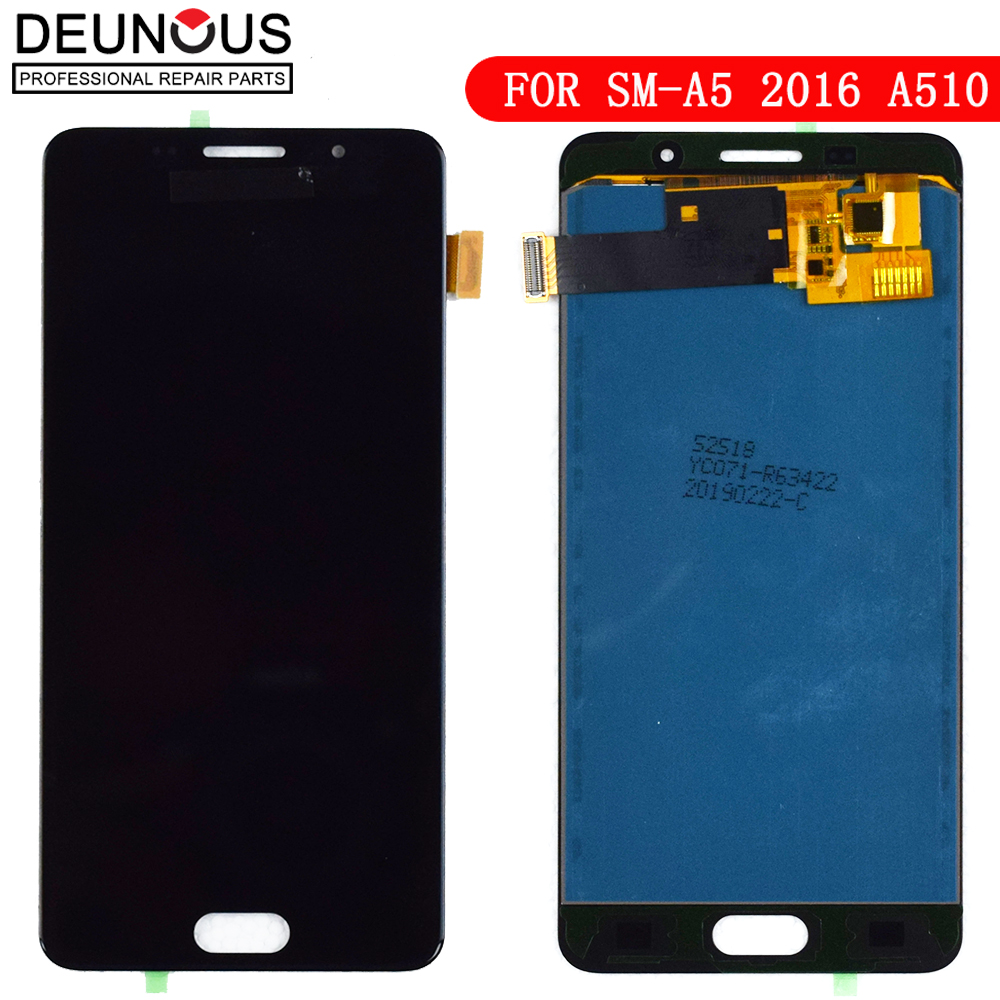 100% Test LCD for Samsung Galaxy A5 2016 A510F A510M A510FD A5100 A510Y LCD Display Touch Screen Digitizer Assembly