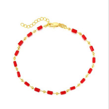 TJP New Arrival Girls Crystal Black Anklets Jewelry Fashion 925 Sterling Silver Bracelet For Women Birthday Party Accessories