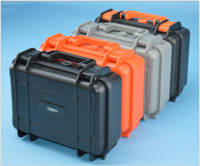 345x268x120mm ABS Tool Case Toolbox Impact Resistant Sealed Waterproof Equipment Camera Case With Pre-cut Foam Shipping Free