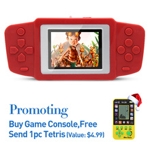 Free Shipping2.5″ Retro Game Handheld Player Built In 268 Games Video Game Console Portable kids Game Console Best gift for kids