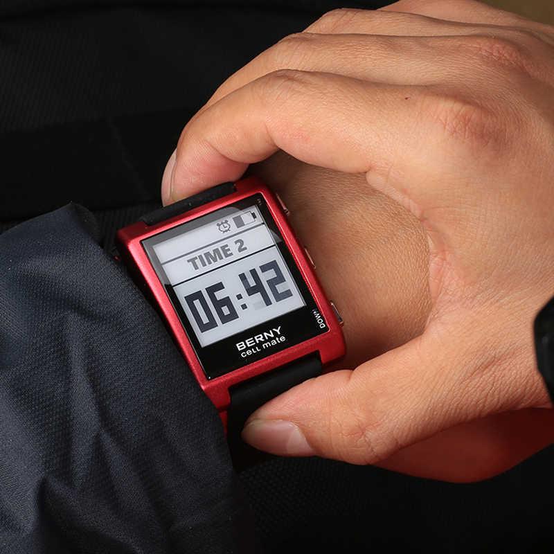 Papel luxo digita relógio eletrônico tinta reloj hombre masculino retro digital e-ink relógios de pulso eletrônicos e003 copa do mundo relógio e003