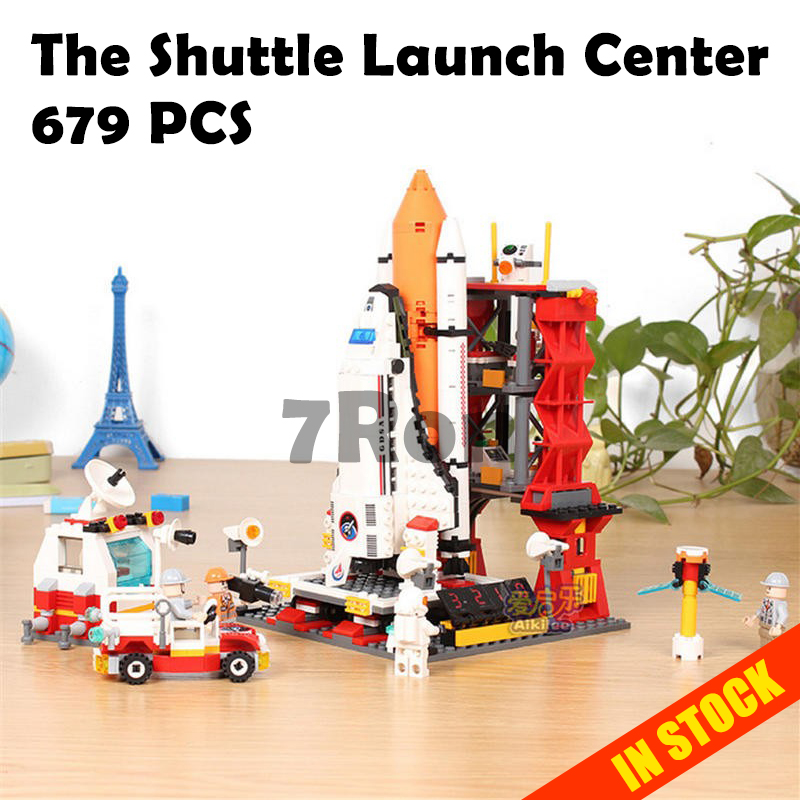 Model Building Toys 8815 679Pcs StarWars Space The Shuttle Launch Center Compatible with lego Block Bricks educational for kids