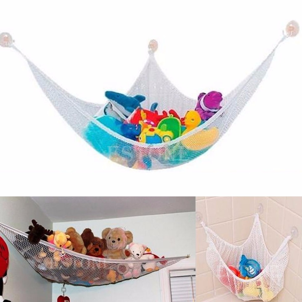 Funny Useful Hanging Toy Hammock Net to Organize Stuffed Animals Dolls bigger size soaked absorbent toy growing animals funny kids swell toy sea