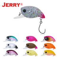 Jerry 3cm trout area micro floating wobblers spinning plugs UV glowing colors lake perch river stream fishing lure hard bait