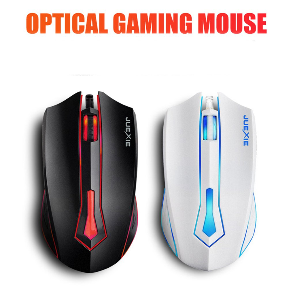 Professional Wired Gaming Mouse LED Optical USB Computer Mouse Gamer Mice Game Mouse Silent Mouse For PC(China)