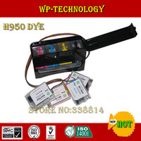 [Full Dye ink] CISS suit for HP950 HP951, suit for HP officejet pro 8600 printer, With specialized Dye ink,show volume chip.