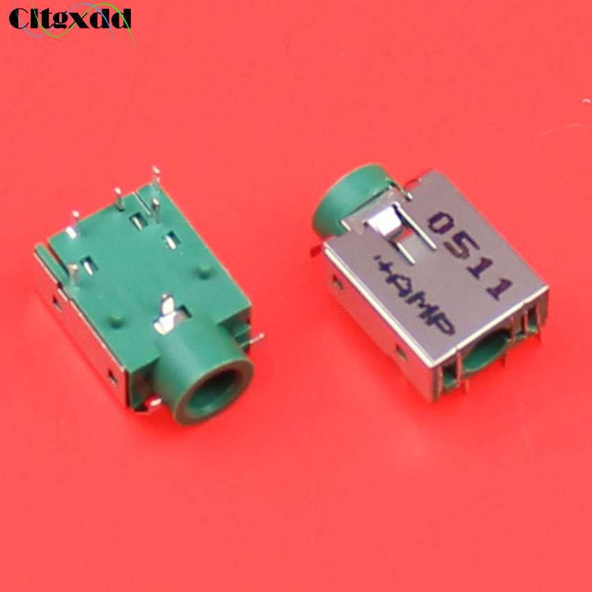 Cltgxdd 5pin For HP / Asus / Acer And Other Audio Headphone Socket Earhone Jack Connectors Green