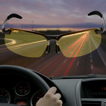 LEEPEE Car Driver Goggles UV400 Driving Glasses Polarized Sunglasses UV Protection Eyewear Night Vision Sun Glasses car driver goggles anti uva polarized sun glasses driving night vision lens clip on sunglasses interior accessories