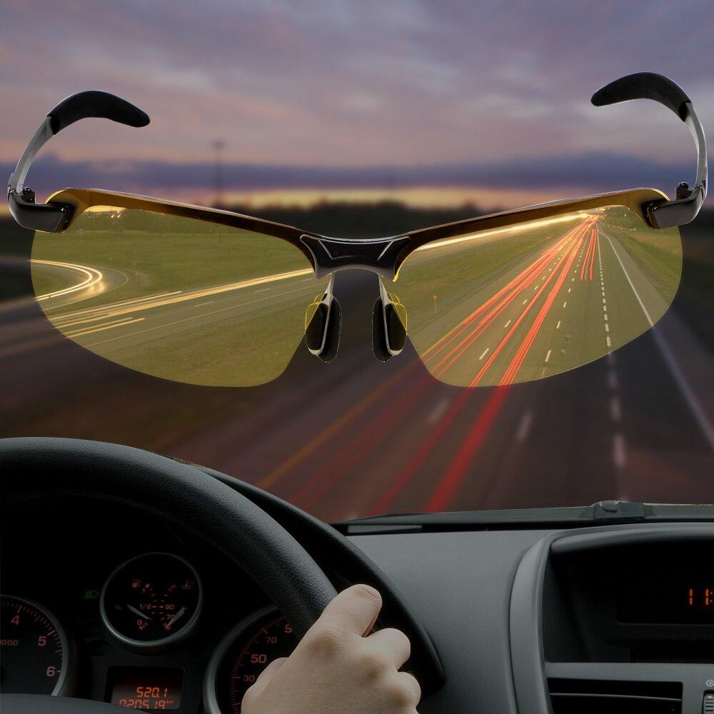 LEEPEE voiture pilote lunettes UV400 conduite lunettes de soleil polarisées UV lunettes de protection Vision nocturne lunettes de soleil