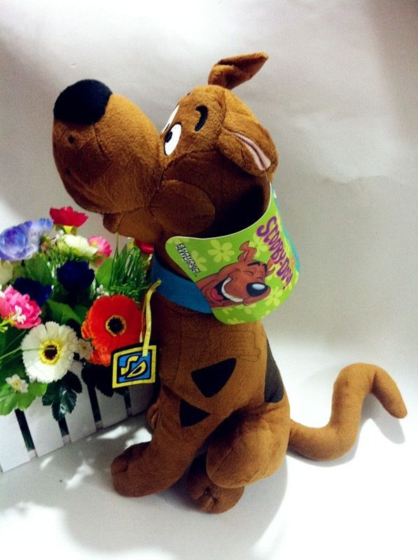 New Scooby Doo Plush dog 14 Stuffed Toy Gift image