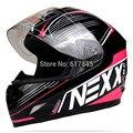 2015 nueva gama alta de cascos de motocicleta NEXX calle coche de carreras casco lleno casco hombres y mujeres casco de carrera libre