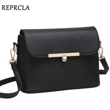 aa9fb07fa REPRCLA hombro primera marca bolsos moda mujer Messenger bolsas crossbody  alta calidad del bolso de cuero de la PU de las señoras bolso