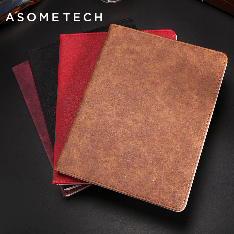 Tablet Case for New ipad 2017 Pro 9.7 Auto Sleep /Wake Flip Vintage Back Cover For 9.7 inch Smart Stand Funda Folio Cases Capa case for funda ipad pro 12 9 luxury business leather case tablet 12 9 inch wake up hand belt holder stand flip bags alabasta