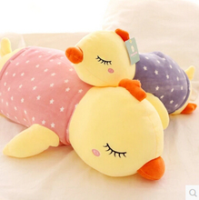 Free shipping 50cm Big size laying chicken plush doll stuffed soft toy best birthday christmas girls gift