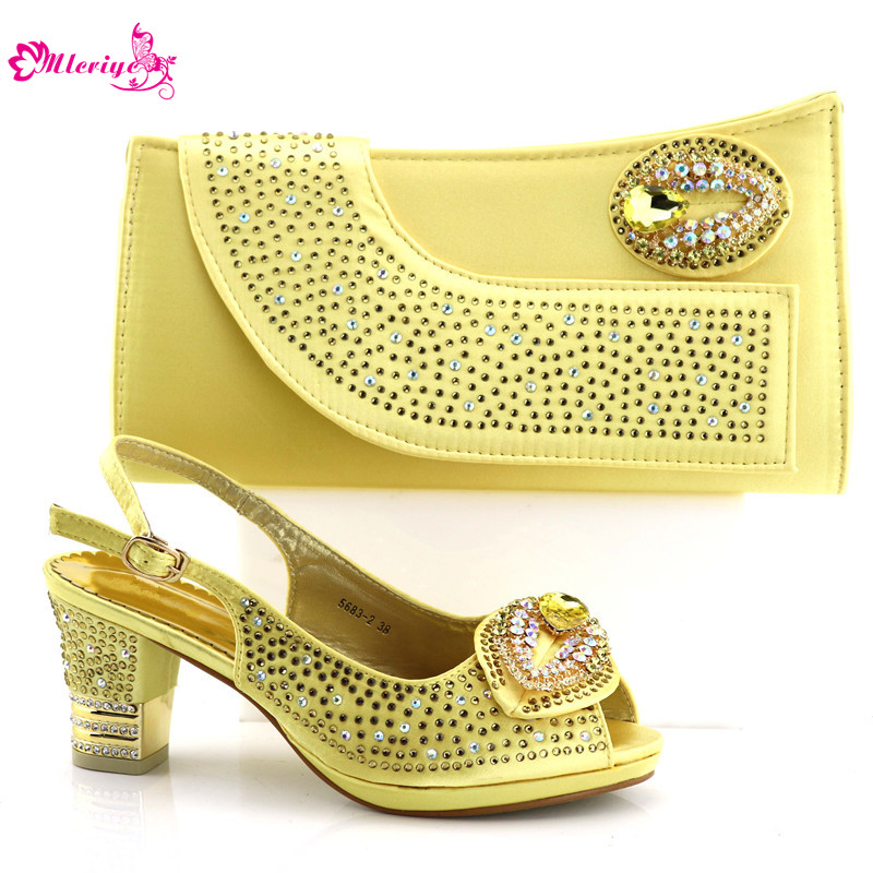 5683-2 High Quality African Woman Shoes And Bag Set Latest Italian Shoes And Bags To Match Set Super High Heel Shoes стоимость