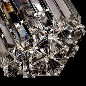 Image 5 - Crystal ceiling Lights Champagne OR Clear Stainless Steel Round Crystal ceiling Lights Design for the Hotel Lobby bar cafe shop
