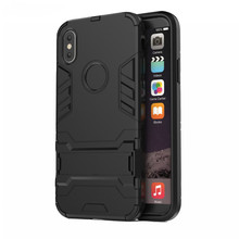 Luxury Armor fitted case for iphone XS MAX XR 6 7 8 plus Anti Fall Soft Edge Shockproof with free gift of Charging Cable