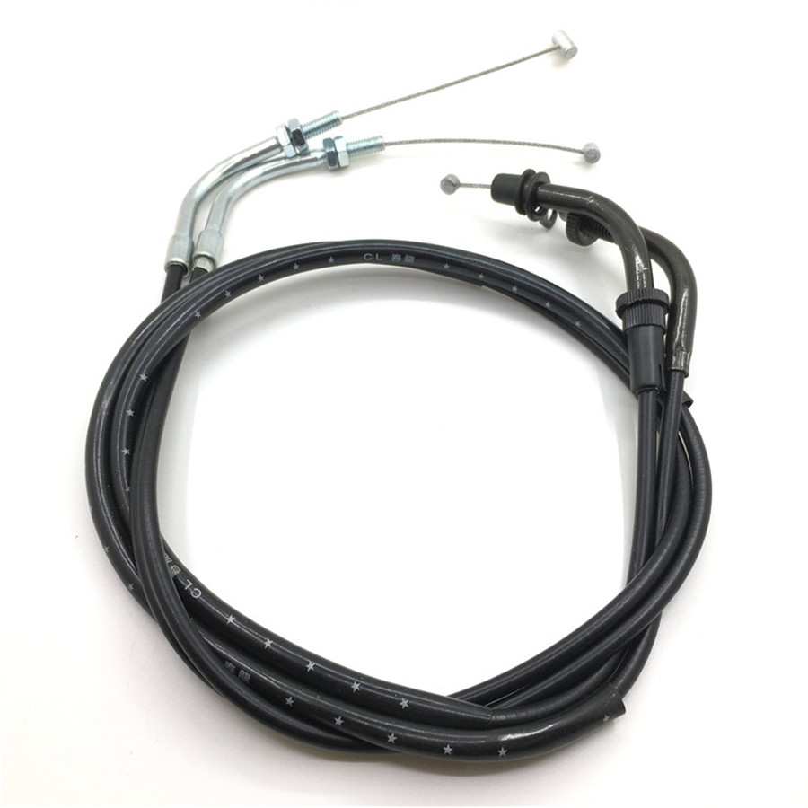 Yecnecty For Yamaha Virago XV250 XV125 Motorcycle Throttle Oil Cables Lines 1 Pair Motorbike Parts Scooter Throttle Wires