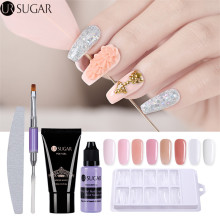 30ml UR Sugar Quick Building Poly UV Builder Gel Nail Tips Finger Extension Camouflage Nail Art