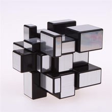 3x3x3 Magic Mirror Cube professional Gold&Silver cubo magico Cast Coated Puzzle Speed Twist learning and education Toys