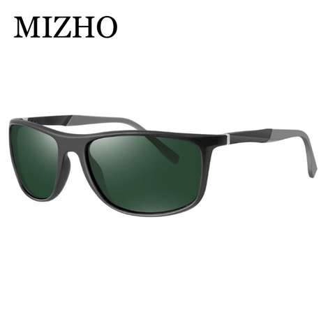 MIZHO 18g Ultralight Aluminum Leg UVA Polaroid Sunglasses Men Vintage Eyewear Accessories Brand Polarized Sunglasses Women 2019 Islamabad